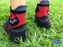 Lengüeta de protección. Facilita recolocar el calcetín durante la carrera.
