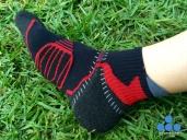 Coolmax® y Skinlife para un secado ultra-rápido (zona negra y roja)